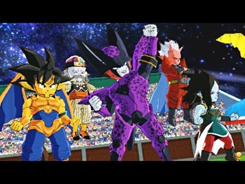 Dragon Ball Fusions - Cellza, Towane, Damira, Sushinku, Android 1920   Fusion World Tournament!