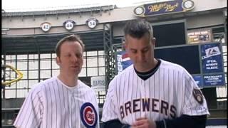 Len Kasper and Daron Sutton Filming a PSA. Raw Footage.