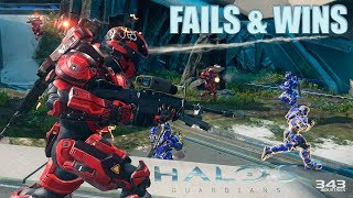 HALO 5 FAILS & WINS #12 (Best Halo 5 Guardians Funny Moments Compilation)