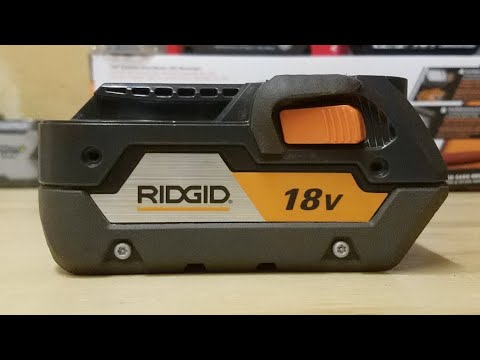 Ridgid 18v Batteries