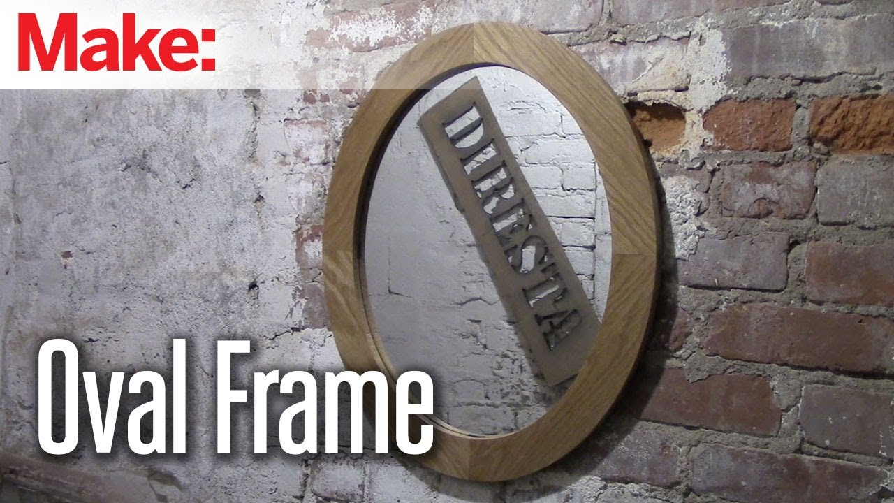 Diresta oval frame and mirror youtube jeuxipadfo Gallery