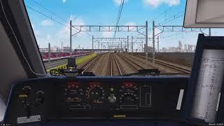 【BVE5】京都・湖西線「特急サンダーバード 大阪~敦賀」681系