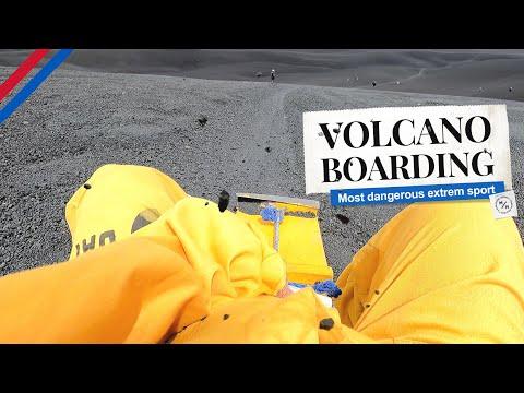 TEASER Volcano Boarding   León, Nicaragua