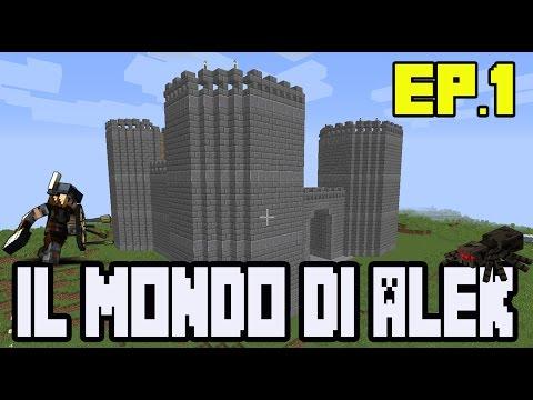 Minecraft IL MONDO DI ALEK Ep.1 : COME COSTRUIRE UN CASTELLO GIGANTE TUTORIAL