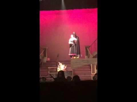 "Phantom of the Opera - Rachel Hamilton ""The Point Of No Return"""
