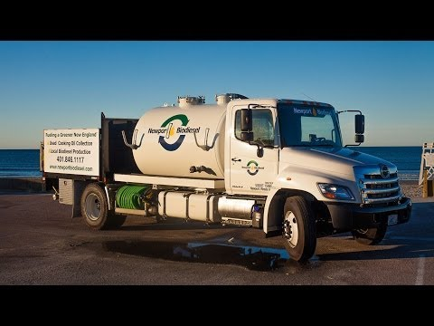 Rhode Island Restaurants Turn Waste Oil Into Biodiesel