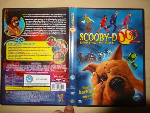 Opening To Scooby Doo 2 Monsters Unleashed Film 2004 Dvd Uk Youtube