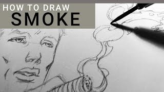 HOW TO DRAW SMOKE - for Comicbooks