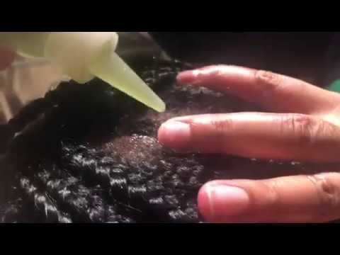 Scalp Oiling & Massage   Braided Hair Play
