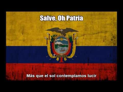 Ecuador National Anthem (Salve, Oh Patria) - Nightcore Style With Lyrics