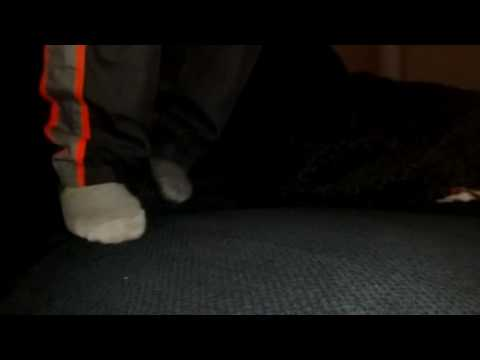 Jumping on couch...great slow motion effects