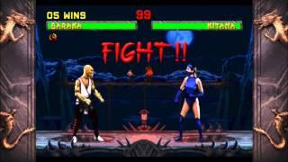 Mortal Kombat 2: Arcade Ladder Playthrough with Baraka