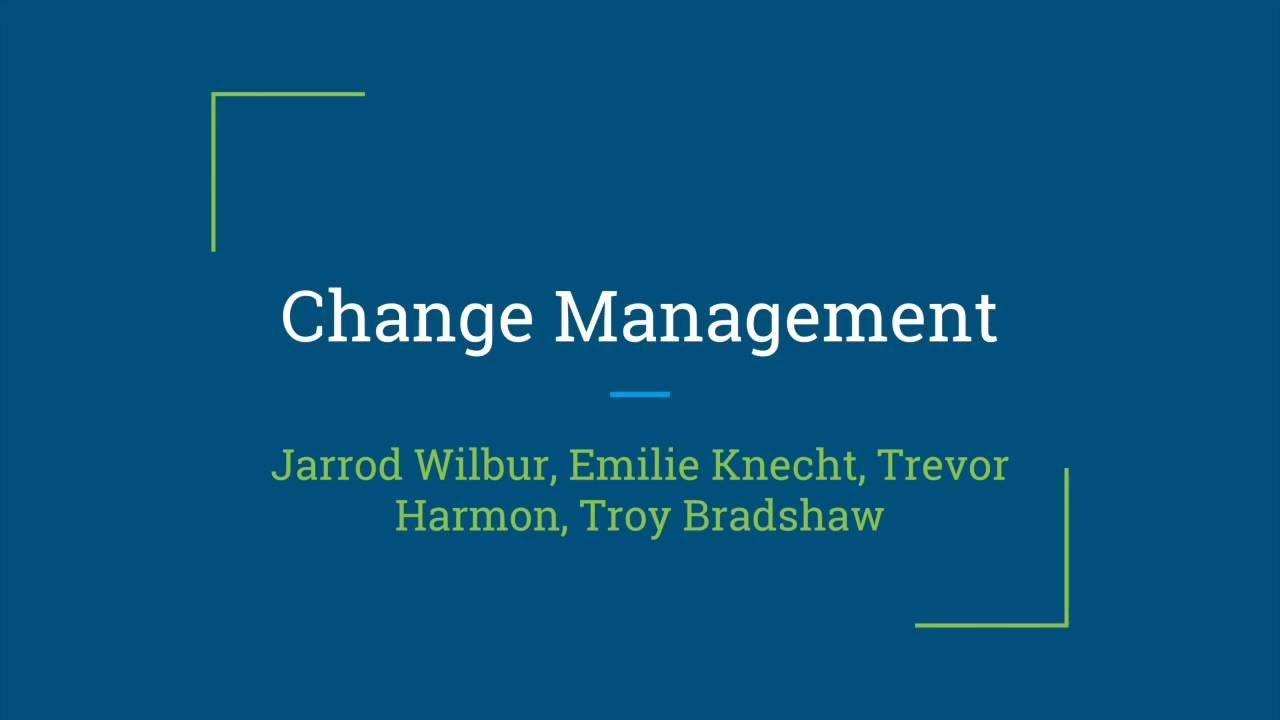 ITIL - Change Management - YouTube