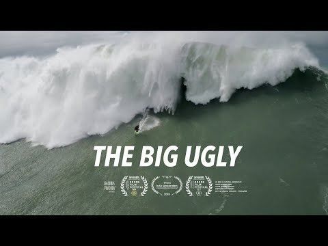 The Big Ugly - Dramatic Rescue of a Fallen Big Wave Surfer - #Drone - Nazaré, Portugal