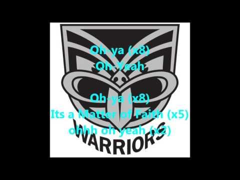 New Zealand Warriors theme song (Lyrics) NRL Sing-A-Long