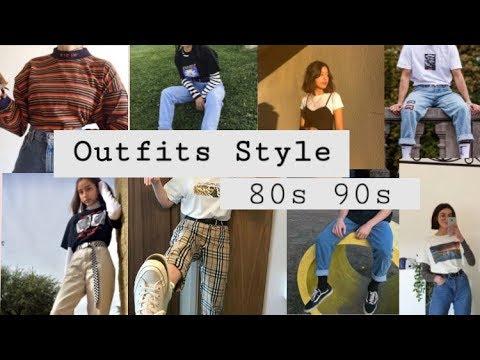 [VIDEO] - Outfits Styles 80s 90s Tumblr - outfits estilos 80s 90s Part 2 3