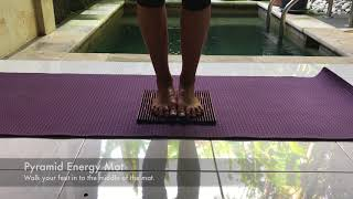 Release your body's freedom - My Pyramid Energy Mat