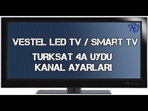 Vestel Tv Turksat 4A Uydu Ayarları