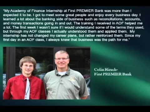 Academy of Finance Summer Internships 2012