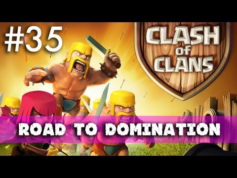 Clash Of Clans - Road To Domination: Trophy And Dark Elixir Hunting