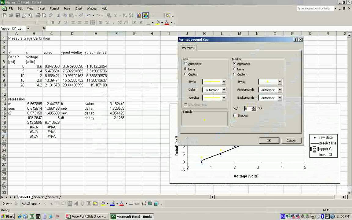 Creating confidence intervals for linear regression in excel youtube ccuart Images