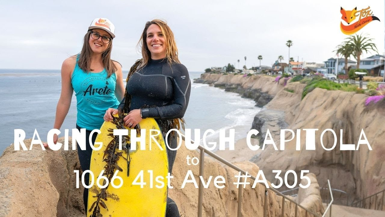 Racing Through Capitola to 1066 41st Ave #A305