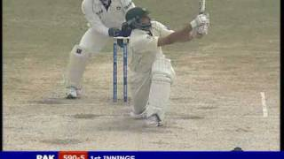 Shahid Afridi Test 100 vs India