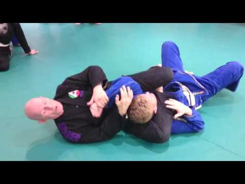DAVE BRIGGS - Back Position 14, Taking the back + submission options