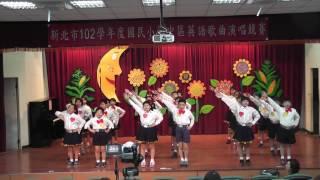 霽昀四年級英文歌曲比賽,四年級組第一名ˊ