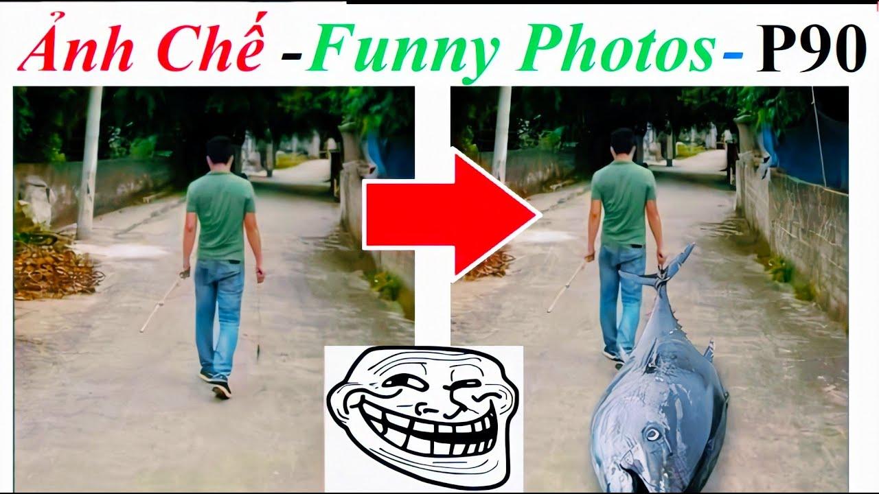 💥Ảnh Chế  – Funny Photos (P 90) Ghép con cá siêu to khổng lồ