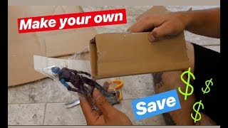 SAVE MONEY! MAKE YOUR OWN SHIPPING BOXES FOR EBAY / SELLING ONLINE