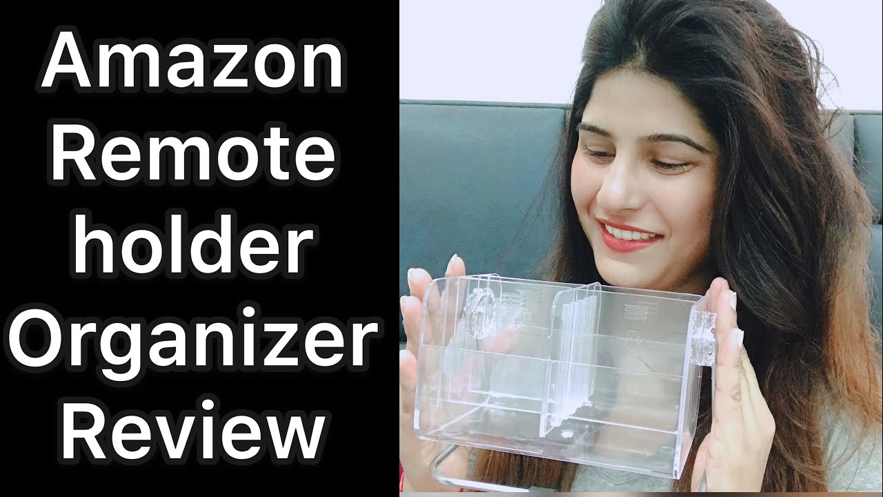TV,AC & Fan remote control holder organizer stand review | Amazon | honest review 😊😊😊