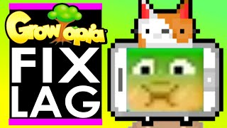 SECRETS to FIX LAG in GROWTOPIA!