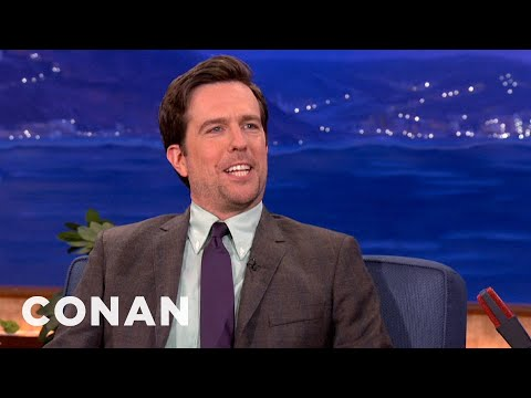 "Ed Helms' Love Of Banjos Comes From ""Deliverance""  - CONAN on TBS"