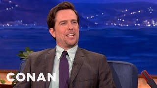 Conan O'Brien Conan Conan (TV Series) TBS (TV Channel) Team Coco Celebrity Interviews Ed Helms