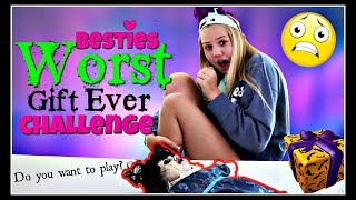 Besties Worst Gift Ever Challenge For Halloween || Taylor And Vanessa