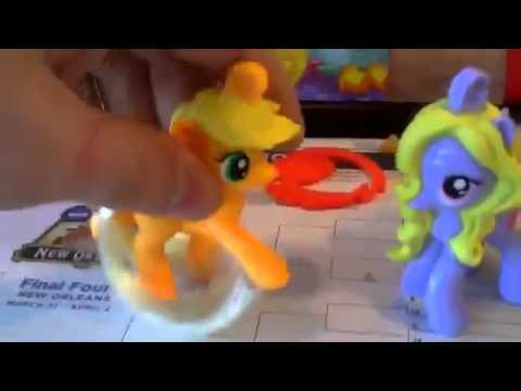[Archive] Brony Unboxing My Little Pony Toys at McDonald's 2012