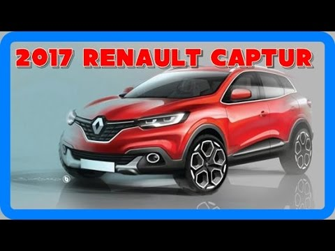 2017 renault captur redesign interior and exterior youtube. Black Bedroom Furniture Sets. Home Design Ideas