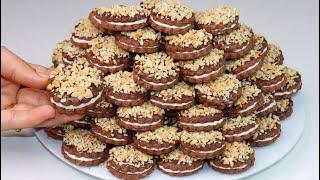 ببيضتين فقط حضرت أكثر من 260 حبة حلوى للعيد هشيشة كذوب في الفم هذه هي حلوة الدرويش اللي غتهنيك