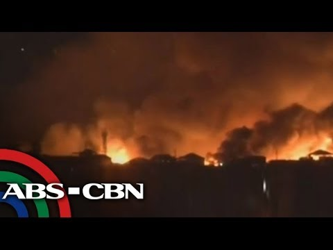 Fire hits residential area in Davao City