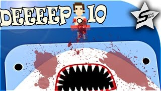 Deeeep Gameplay - SURVIVING THE SEA, SHARK, WHALE, AND MORE!! - Deeeep.io Gameplay & Funny Moments
