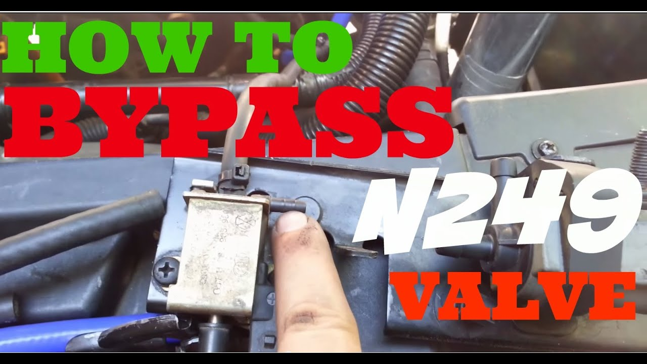 How To Bypass The N249 For Vw Jetta Gti 1 8t