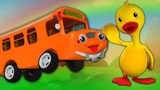 колеса на автобусе пойти кругом | Дети потешки | Wheels on the Bus | Nursery Rhymes For Kids