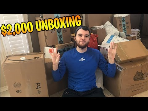 $2,000 AMAZON PACKAGE UNBOXING!