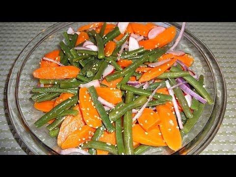 Ensalada de zanahoria y ejotes mi receta youtube - Ensalada de apio y zanahoria ...