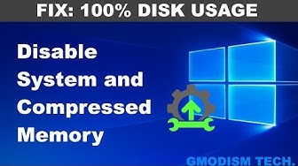 """How to disable """"System and Compressed Memory"""" in Windows 10 - Tech Tutorial"""