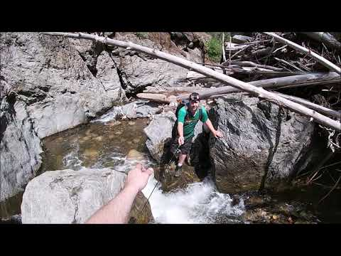 Hiking The Okanagan - Fishing Small Creeks For Trout