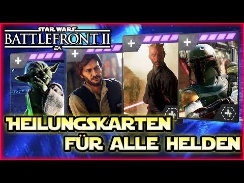 Alle neue Helden Heilung Sternenkarten! - Heldenheilung verändert sich! - Star Wars Battlefront 2 thumbnail