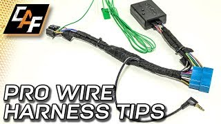 Radio Wiring Harness - How to Install like a PRO