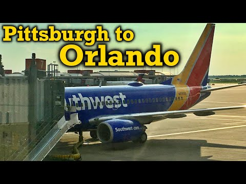 Full Flight: Southwest Airlines B737-700 Pittsburgh to Orlando (PIT-MCO)